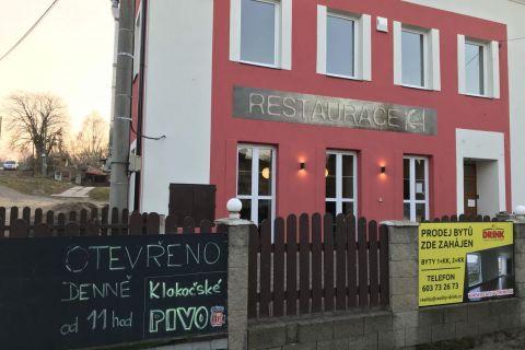 BD a restaurace Bakov Klokočka